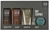American Crew Daily Essentials Fiber Set